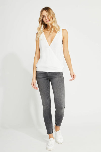 Gentle Fawn Weiss Tank in white and opal Grey Style Number GF2007-3810 on shopbfree.com