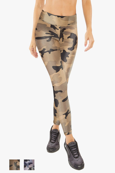 Koral Lustrous High Rise Leggings In Camouflage and Midnight Camo Style Number A2017HS06 on shopbfree.com BfreeBabe MyBfreeStyle Bfree_boutique Shopbfree
