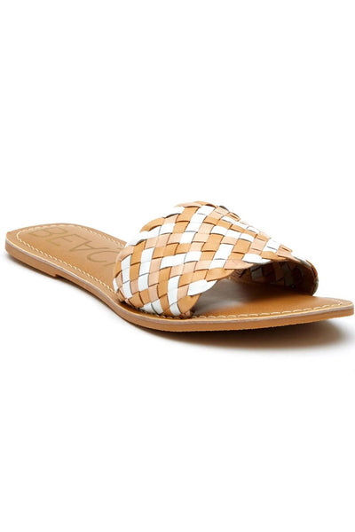 Matisse Footwear Saltwater Slide Natural Multi on Shopbfree.com