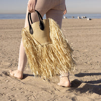 Melie Bianco Maui Straw Tote Style TM5018 on shopbfree.com