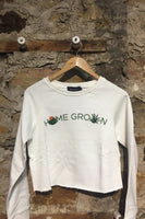 Minkpink Home Grown Sweatshirt IM19S1009 Off White