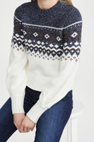 Minkpink Solstice Fairisle Sweater Style Number IM20F2802 in Multi;Women's Sweater;Women's Holiday Sweater;Winter Sweater;Women's Casual Holiday Style;Women's online Fashion and Accessories Boutique;Shopbfree;Bfree_Boutique;MyBfreeStyle