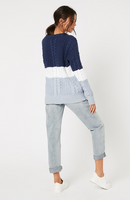 Minkpink Blue Afternoon Sweater