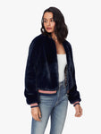 The Letterman Fur Jacket