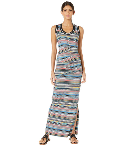 Island Stripe Vanessa Maxi Dress