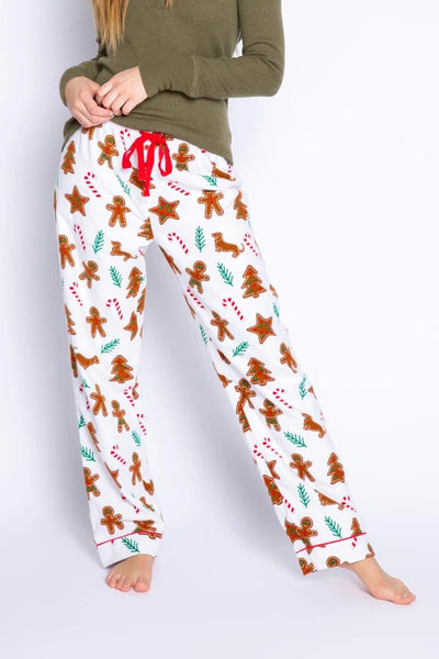 PJ Salvage Baking Spirits Bright Flannel PJ Pant Style Number RVWSP1 Ivory;Women's Pajamas;Women's Winter Pajamas;Women's Christmas Pajamas;Women's Holiday Gift Idea;Women's online Clothing and Accessories Boutique;Shopbfree;Bfree_Boutique;MyBfreeStyle;BfreeStyle