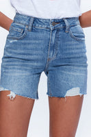 Sarah Longline Short Haddie Destructed