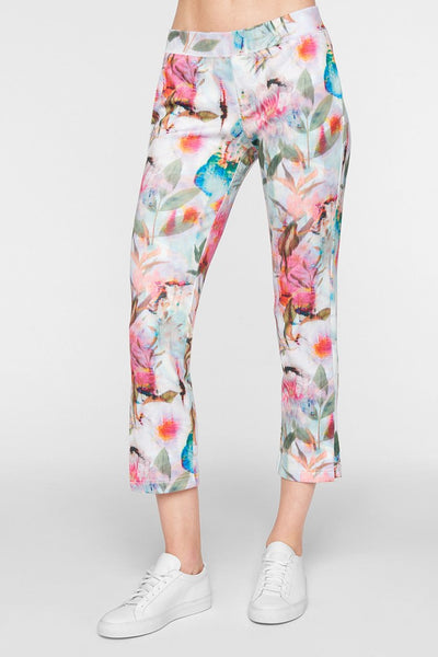 Pam & Gela Digi Floral Crop Pant on shopbfree.com