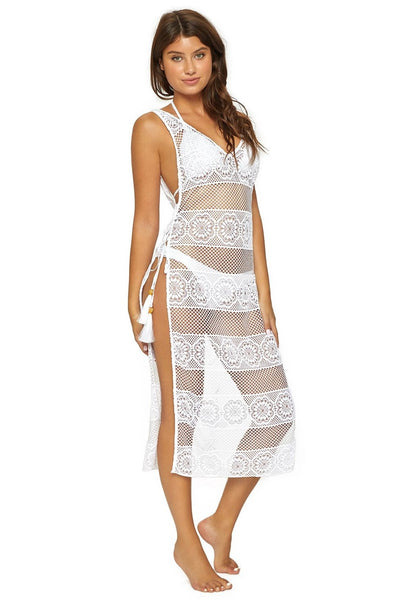 PilyQ Joy Lace Tunic Cover-up Style SPA-965D