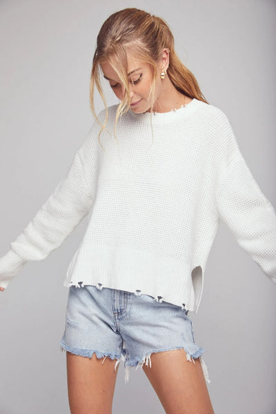 Pistola Olga Pullover Sweater Style Number P2003KCS-INF on shopbfree.com