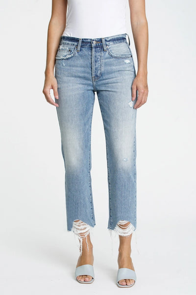 Pistola Denim The Charlie High Rise Straight in Blue Skies Style Number P6883KEE-BSK;Women's Pistola Denim;Women's Sping Denim;Women's Pistola Jeans;Women's Spring Jeans;Women's Online Clothing and Accessories Boutique;Shopbfree;Bfree_boutique;bfreebabe;Bfree Warwick;Bfree Wyckoff;MyBfreeStyle