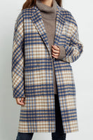 Rails Clothing Everest in Beige Blue Plaid Style Number 917-413-2230 on shopbfree.com