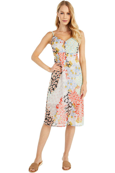 Sanctuary Clothing Everyday Slip Dress Style CD1453PYA in Picnic Print on Shopbfree.com