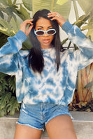 Show Me Your Mumu Sunday Sweater Style MS0-4237 NT20 in Navy Tie Dye on Shopbfree.com bfreebabe mybfreestyle