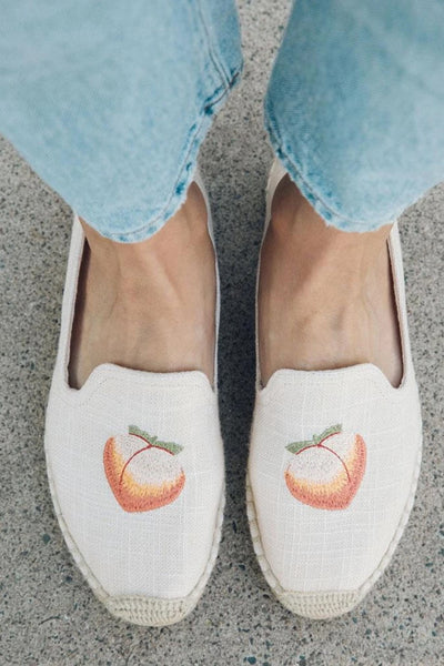 Soludos Peach Bum Espadrille Smoking slipper