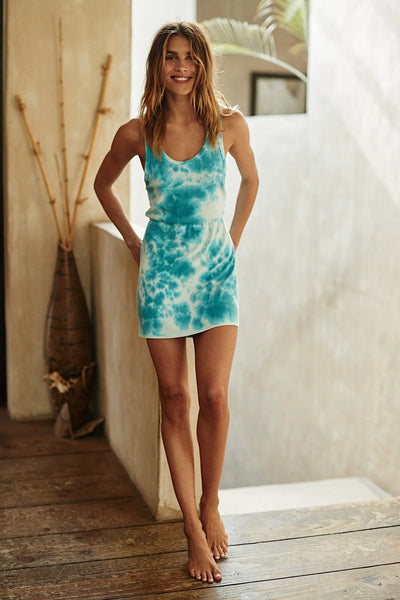 Spiritual Gangster Day Off Dress Style Number SP00416011 ITD in Island Tie Dye on shopbfree.com