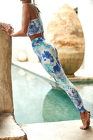 Spiritual Gangster Self Love Legging Cotton Candy Tie Dye Style Number sp03677021 CCD on shopbfree.com