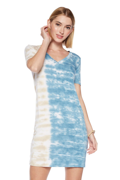 Viereck Clothing Homie Dress in Parma;Women's Spring Summer Dress;tie dye dress;Viereck Dress;Deborah Viereck Dress;Women's Online Clothing and Accessories Boutique;Shopbfree;shopbfree.com;Bfree Warwick;Bfree Wyckoff;Bfree_boutique;bfreebabe;MyBfreeStyle