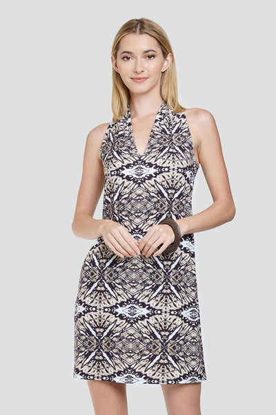 Viereck Clothing Pablo Dress in FFF;Women's Spring Summer Dress;Tie Dye Dress;Viereck Dress;Deborah Viereck Dress;Women's Online Clothing and Accessories Boutique;Shopbfree;shopbfree.com;Bfree Warwick;Bfree Wyckoff;Bfree_boutique;bfreebabe;MyBfreeStyle;Spring Dress;Women's Dress