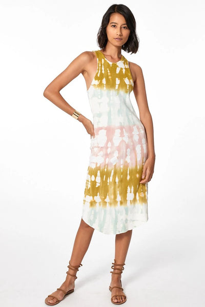 Young Fabulous and Broke Robbie Tank Dress in Willow Geode Wash Style Number 3471RB Willo;Women's Spring Tank Dress;Women's Tie Dye Dress;Women's Spring Tie Dye Dress;Women's Online Clothing and Accessories Boutique;Shopbfree;Bfree_boutique;bfreebabe;MyBfreeStyle