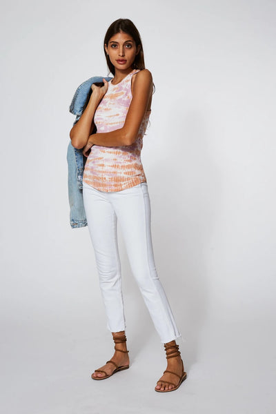 young fabulous & Broke Robbie Tank Style Number 1468RB in Peach Bamboo Wash on shopbfree.com