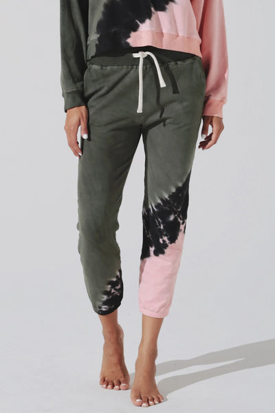 Electric & Rose Vendimia Jogger in Echo Wash Laurel Melon Onyx Style Number LFBT20-ECHOLMOX on shopbfree.com