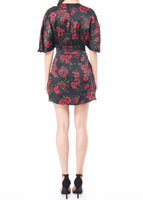 Lane Dress Red Rose