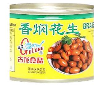Braised Peanuts (Gulong) 170g 香焖花生 (古龙)