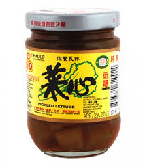 Lettuce Pickled (AAA) 180g 菜心
