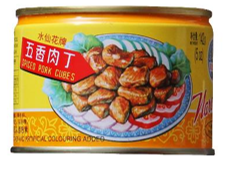 Pork Cubes Spiced (Narcissus) 142g 肉丁(水仙)