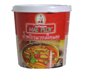 Curry Paste- Red (Thai Curry) 1Kg (红) 色加厘酱