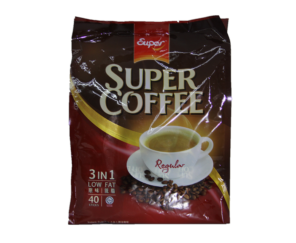 Coffee Mix 3In1 (Super) LowFat/Regular 40s 1Pkt X 40S X 20G 超极加啡粉三盒一