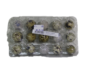 Quail Egg (Bird Egg) 1tray x 15pcs 鹌鹑蛋 DASOON