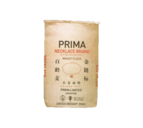 Wheat Flour (Necklace Brand) 25KG 面粉 (链标)