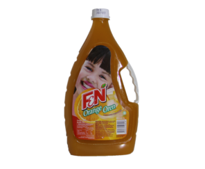 F&N Cordial-Orange 2Ltr 橙子汁