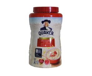 Instant Oatmeal - (Quaker Red) 1Kg 即食麦片 (红)