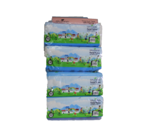 Facial Tissue(SPLENDID) 4 Pkt x 200's (2Ply) 纸巾