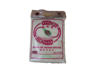 Rice Fwr (Dragon Fruit Brand) 5KG/25KG 香米 (龍珠果) Siam Rice