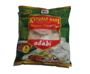 Long Tong Rice (Adabi) Rice Cube (ketupat) 130g X 6Pcs 隆东米