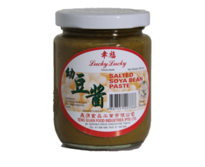 Salted Soya Bean Paste (Lucky Lucky) 260gm 毛酱(辛福)