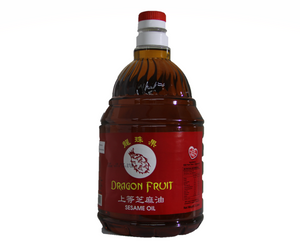 Sesame Oil (Dragon Fruit Brand) 2L / 5L 麻油 (龙珠果)