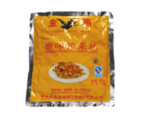 Preserved Vegetable Slice 500g 原味榨菜丝 (Sze Chuan)