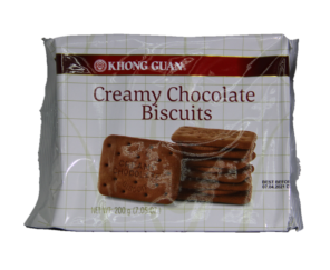 Creamy Chocolate Biscuits 1Pkt x 200g 巧克力饼(康元)