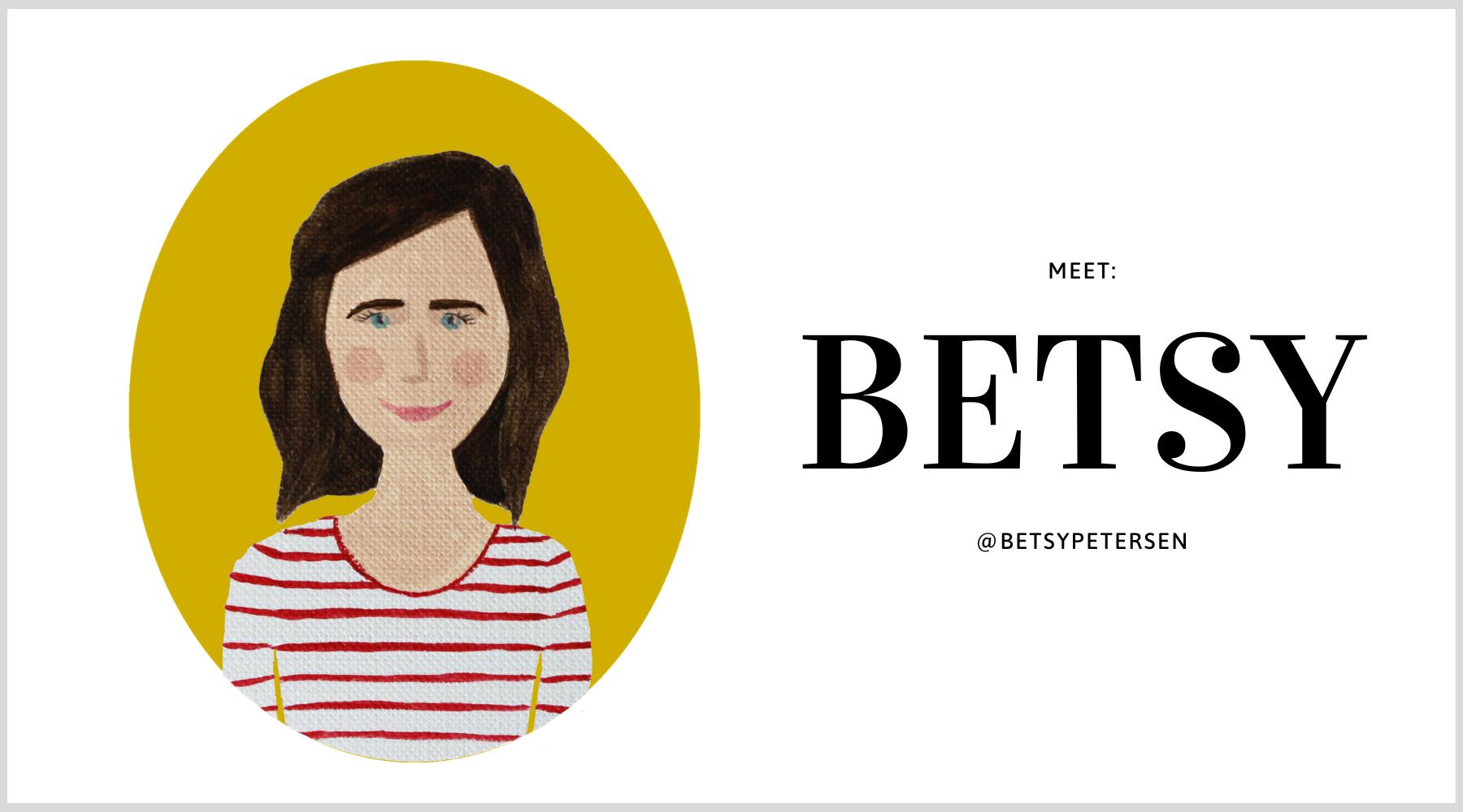 Our chat with Betsy Petersen