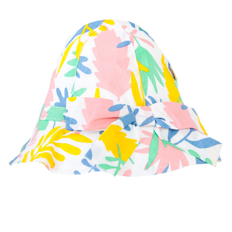 Melissa Hat In Floral Abstract