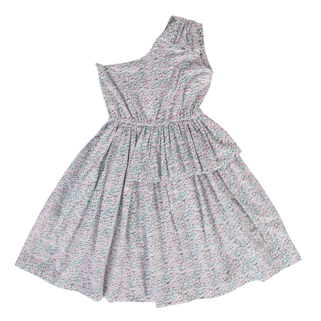Piper Dress in Mini Pink Floral