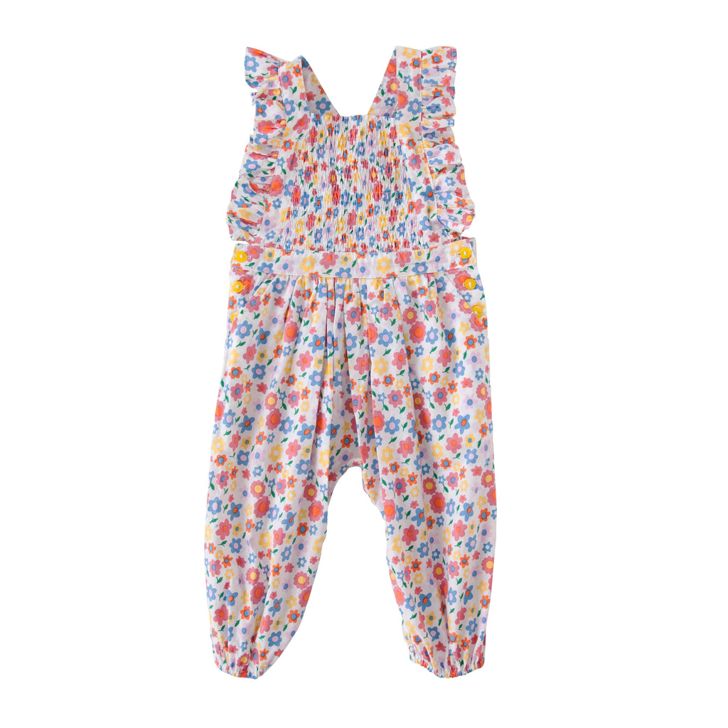 Mia playsuit in Pop Floral