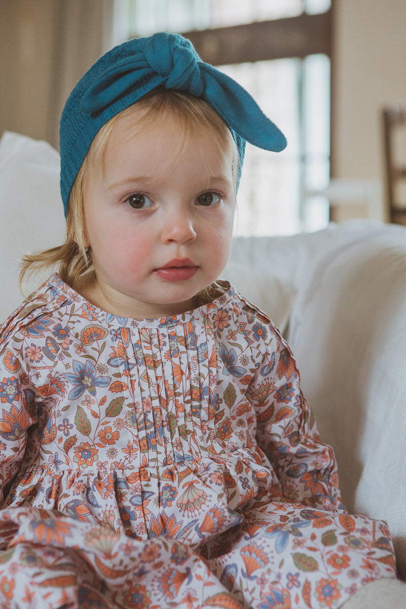 Cybil Dress + Nappy Cover Set Dragonfly Print