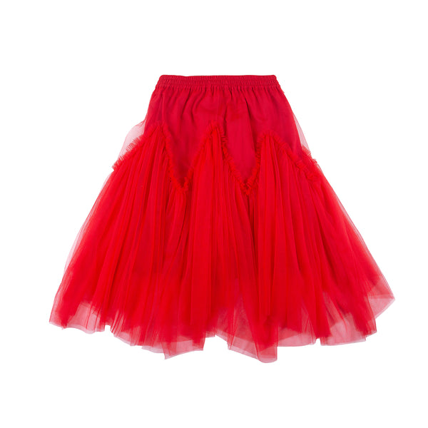 Harper Skirt Red