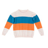 Zara Crew Knit Multi Stripe